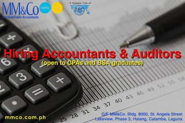 Hiring Accountants and Auditors
